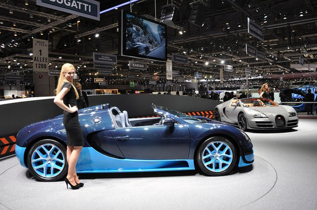 Bugatti Veyron Grand Sport Vitesse is where tip speed goes topless
