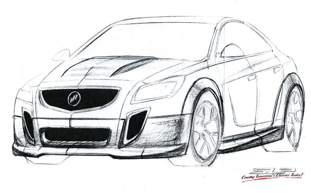 Buick GNX sketch