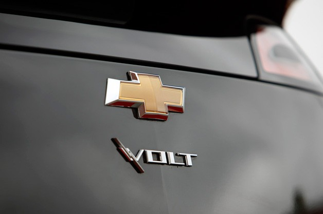 Chevrolet Volt emblem