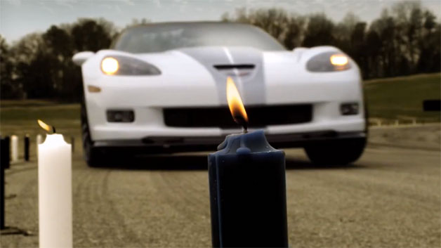 2013 Chevrolet Corvette 427 blowing out candles