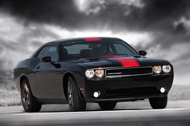 2012 Dodge Challenger Rallye Redline - front three-quarter dynamic shot