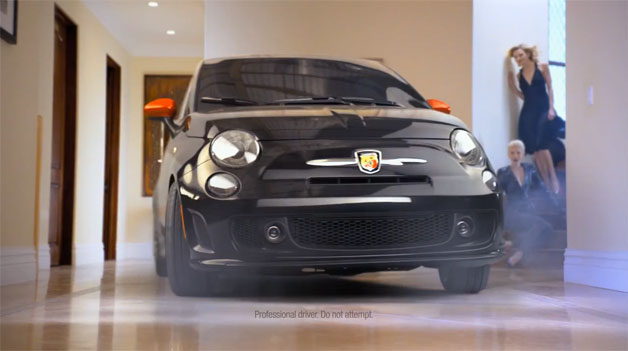 2012 Fiat 500 Abarth Charlie Sheen commercial