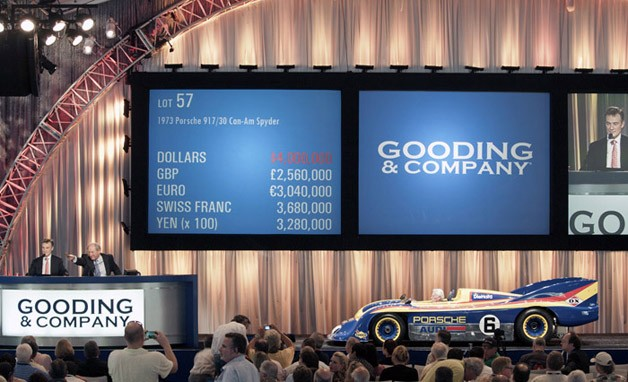 Gooding and Company Porsche 917 auction