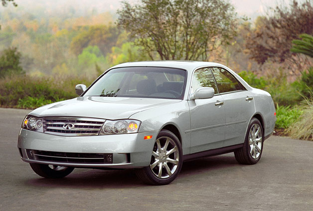 infinitim45recnh Infiniti recalling 2003 2004 M45 sedans over potential fuel gauge issue