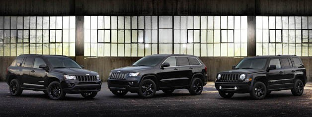 2012 Jeep Altitude edition Grand Cherokee, Patriot and Compass
