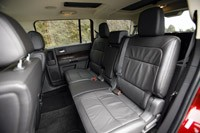 2013 Ford Flex rear seats