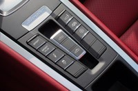2013 Porsche Boxster S center console controls