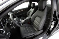 2012 Mercedes-Benz C350 4Matic front seats