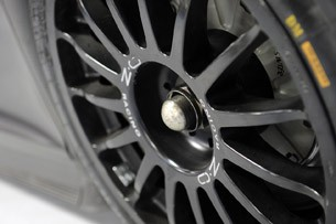 GMG Audi R8 LMS wheel detail
