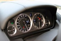 2012 Aston Martin Virage gauges