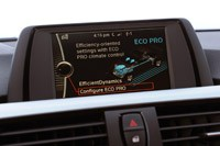 2012 BMW 335i driving mode display