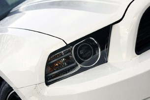 2013 Ford Mustang GT headlight