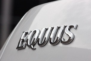 2011 Hyundai Equus Long-Term badge