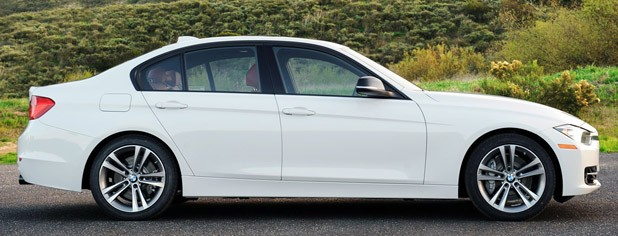 2012 BMW 335i side view