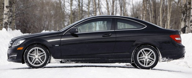 2012 Mercedes-Benz C350 4Matic side view