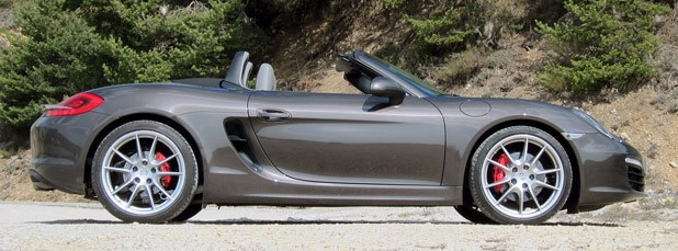 2013 Porsche Boxster S side view