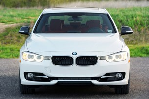 2012 BMW 335i front view