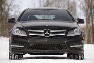 2012 Mercedes-Benz C350 4Matic front view