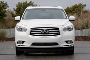 2013 Infiniti JX side view