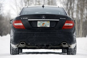 2012 Mercedes-Benz C350 4Matic rear view