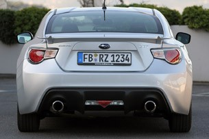 2013 Subaru BRZ rear view