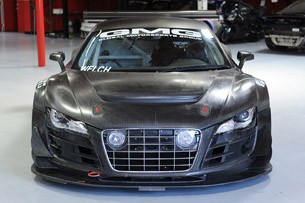 GMG Audi R8 LMS front view