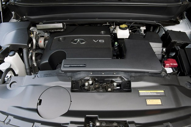 2013 Infiniti JX engine