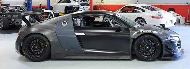 GMG Audi R8 LMS side view