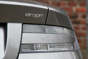 2012 Aston Martin Virage taillight