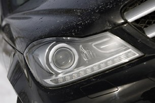 2012 Mercedes-Benz C350 4Matic headlight