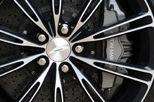 2012 Aston Martin Virage wheel detail