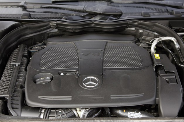 2012 Mercedes-Benz C350 4Matic engine