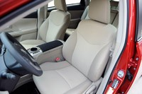 2012 Toyota Prius V front seats