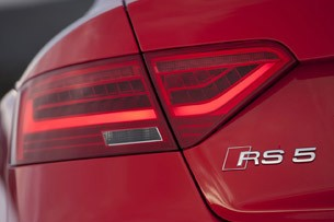 2013 Audi RS5 taillight