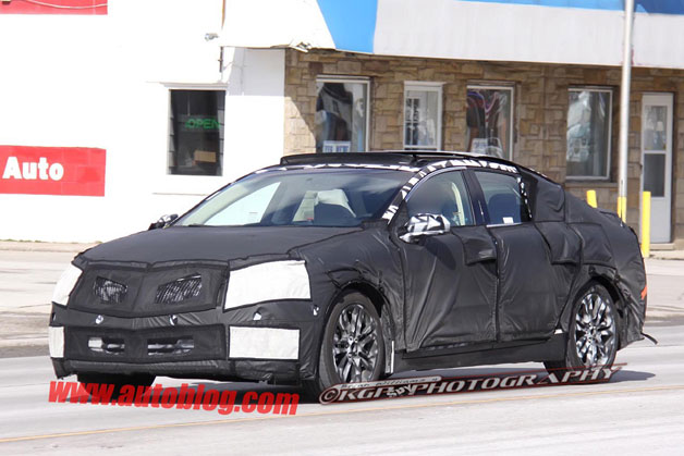 2013 Lincoln MKZ spy shots