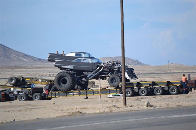 Mad Max Gigahorse with dual supercharged V8 engines
