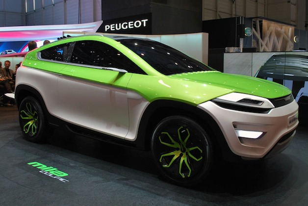 Magna Steyr MILA Coupic Concept