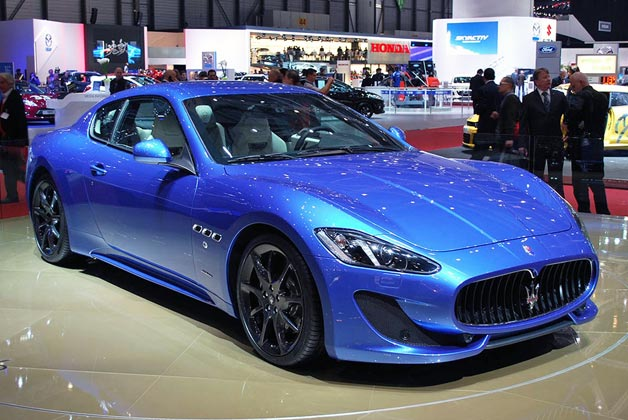 fashion cars 2012 maserati granturismo car. Black Bedroom Furniture Sets. Home Design Ideas