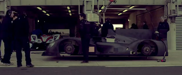 Morgan LMP2 race car