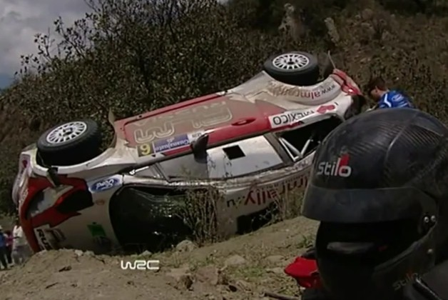 Evgeny Novikov rally mexico