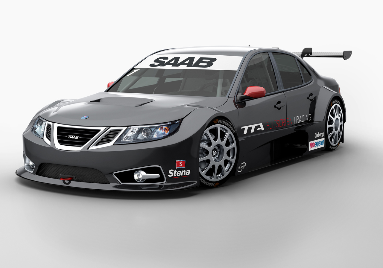 saab 9 3 to live on in swedish touring car racing autoblog. Black Bedroom Furniture Sets. Home Design Ideas