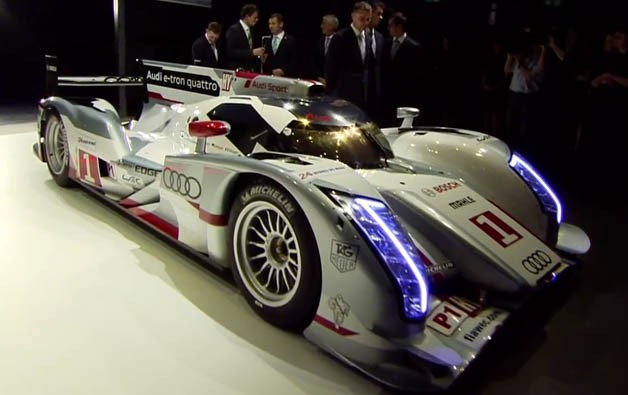 Audi R18 e-tron quattro reveal