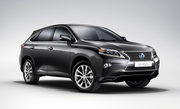 2013 Lexus RX leaked photos