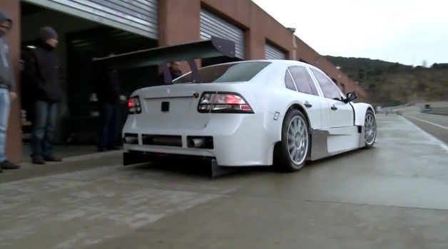 saabvideo628 Watch and hear Flash Engineerings awesome new Saab 9 3 touring car