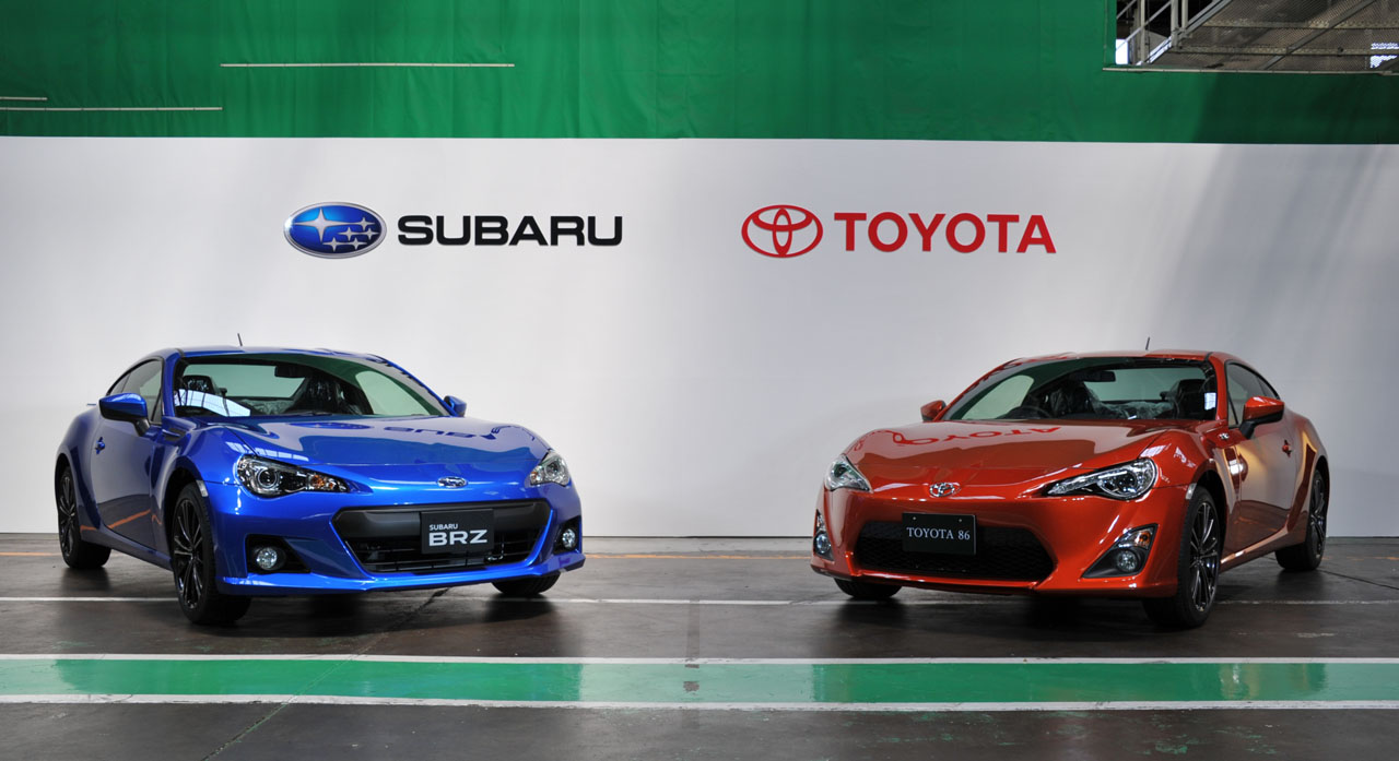 subaru brz and toyota gt 86 production underway photo gallery autoblog. Black Bedroom Furniture Sets. Home Design Ideas