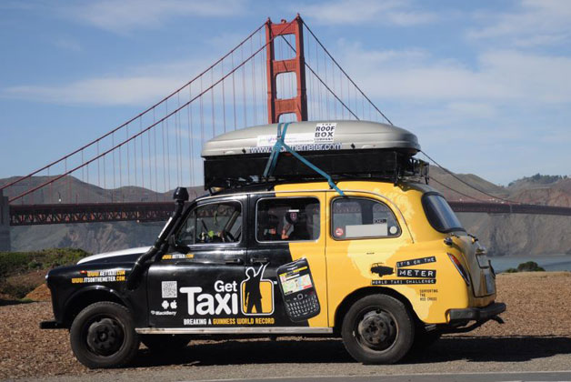 It's on the Meter - World Taxi Challenge