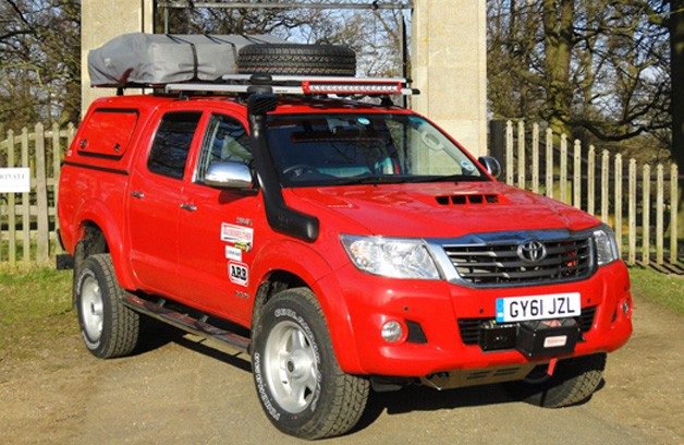 Toyota UK says Top Gear boys to go on another Hilux adventure [w/video