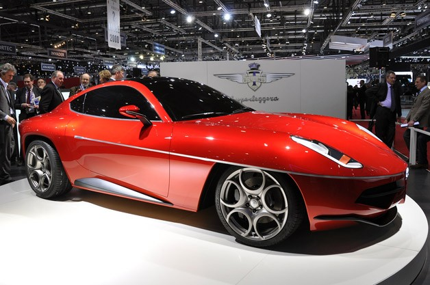 Touring Superleggera Disco Volante Concept looks Alfa familiar