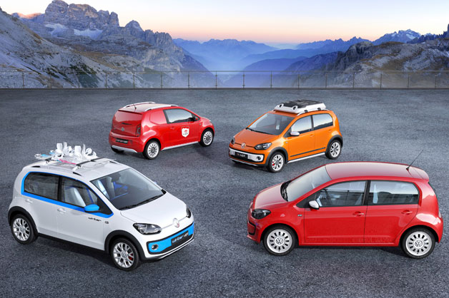 Volkswagen Up! family of Geneva Motor Show concepts