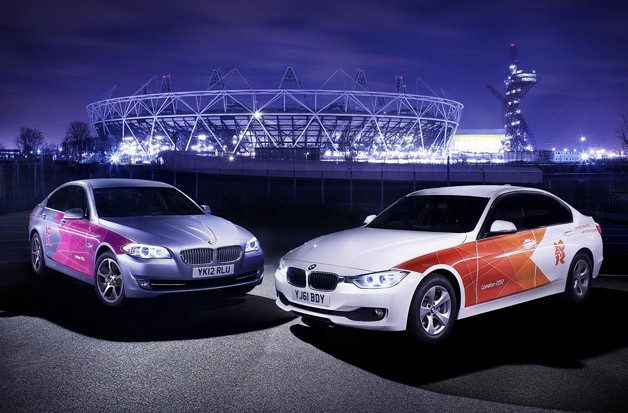 BMW 320d and 520d for London Olympics